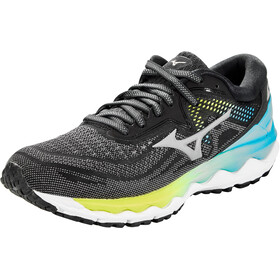 Mizuno Wave Sky 4 Schoenen Dames, phantom/crock/scuba blue